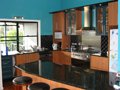 Veneer & granite kitchen