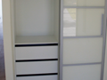 Robe Drawers Behind Sliding Doors
